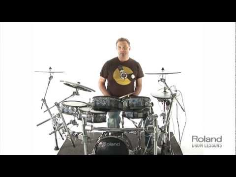 Roland Drum Lessons - Lesson 1 (Warm Ups)