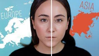 Westliches Makeup VS Asiatisches Makeup 🥊 Die Makeup Techniken im Vergleich | Hatice Schmidt