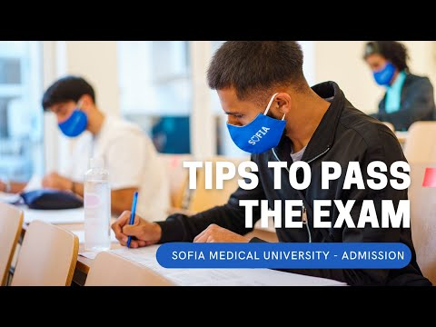 Tips to Pass Sofia Medical University Entry Exam   Admission 2021