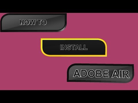 How To Install Adobe Air On Windows 7