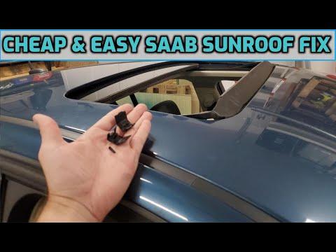 CHEAP Saab Sunroof FIX