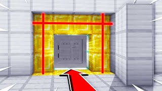 UNLOCKING A SECRET MINECRAFT ROOM...