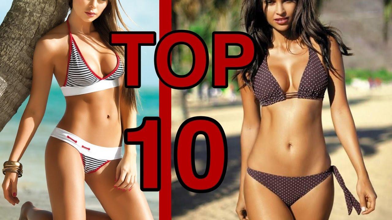 TOP 10 - COSTUMI DA BAGNO più STRANI del MONDO - YouTube