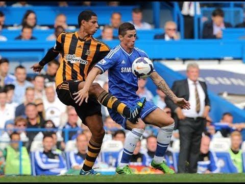 HD Highlights Hull City vs Chelsea 11/01/14