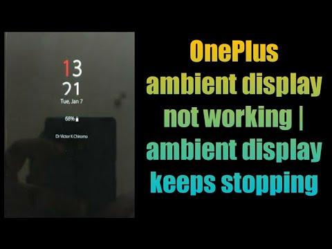 OnePlus ambient display