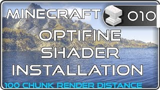 Minecraft 1.12.2 Shader & optifine installieren
