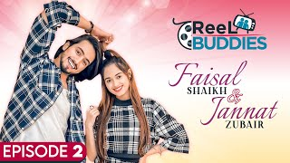 Mr Faisu and Jannat Zubair on their chemistry, friendship, knowing each other | Reel Buddies | Lehja