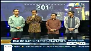 Dialog KADIN Capres & Cawapres Jokowi JK Part. 2