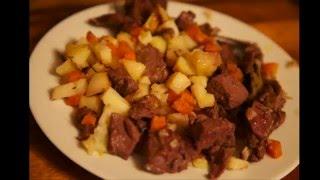 Рецепт приготовления оленьих рёбрышек .Tundra-food. Оленина.Ребра.