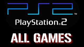 All PS2 games Part 4