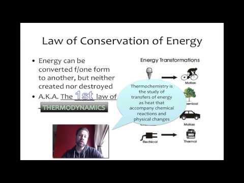 Energy in Chemistry (Basics)