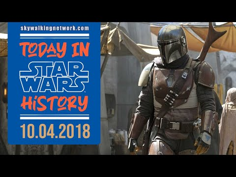TODAY IN STAR WARS HISTORY: 10/4/2018 - The Mandalorian first official image posted by starwars.com