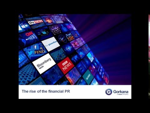 The rise of the financial PR