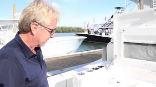 Invincible 42 Center Console Cabin at Miami Boat Show
