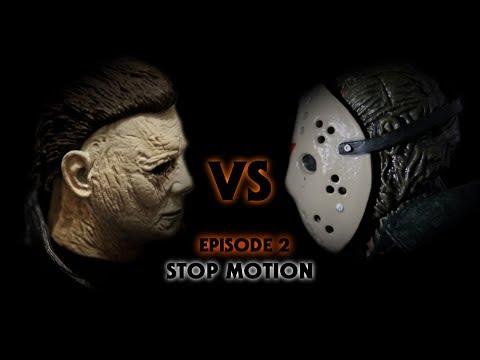 Michael Myers vs Jason Voorhees Stop Motion Episode 2