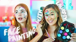 FACE PAINTING with LaurDIY || Sasha