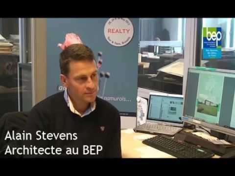 Le bep au salon realty interview d 39 alain stevens for Alain elie architecte