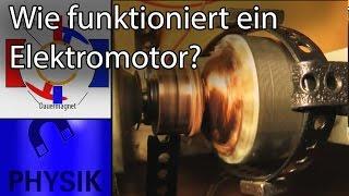 Wie funktioniert ein Elektromotor?