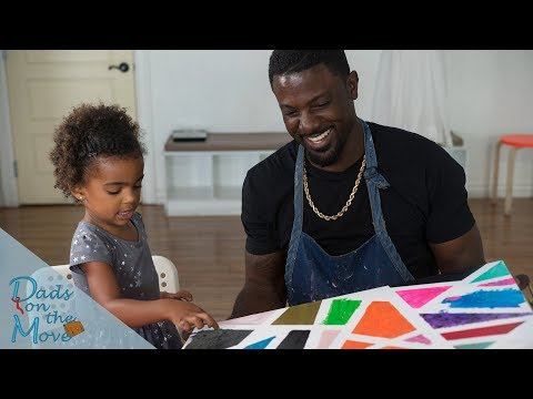 A Day in the Life of Lance Gross & Daughter Berkeley | Dad's on the Move