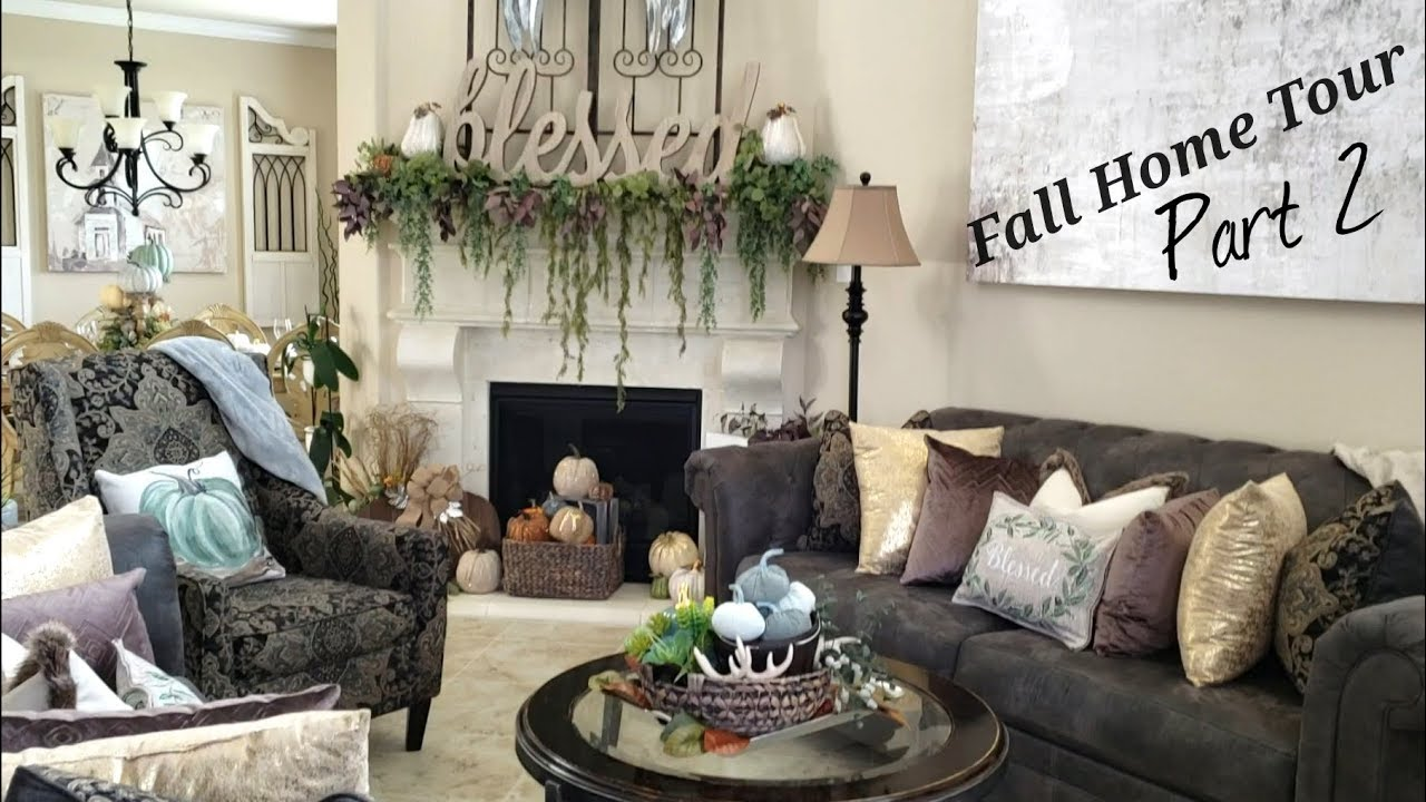 Fall Home Tourpart 2dining Roomliving Roomkitchen Youtube