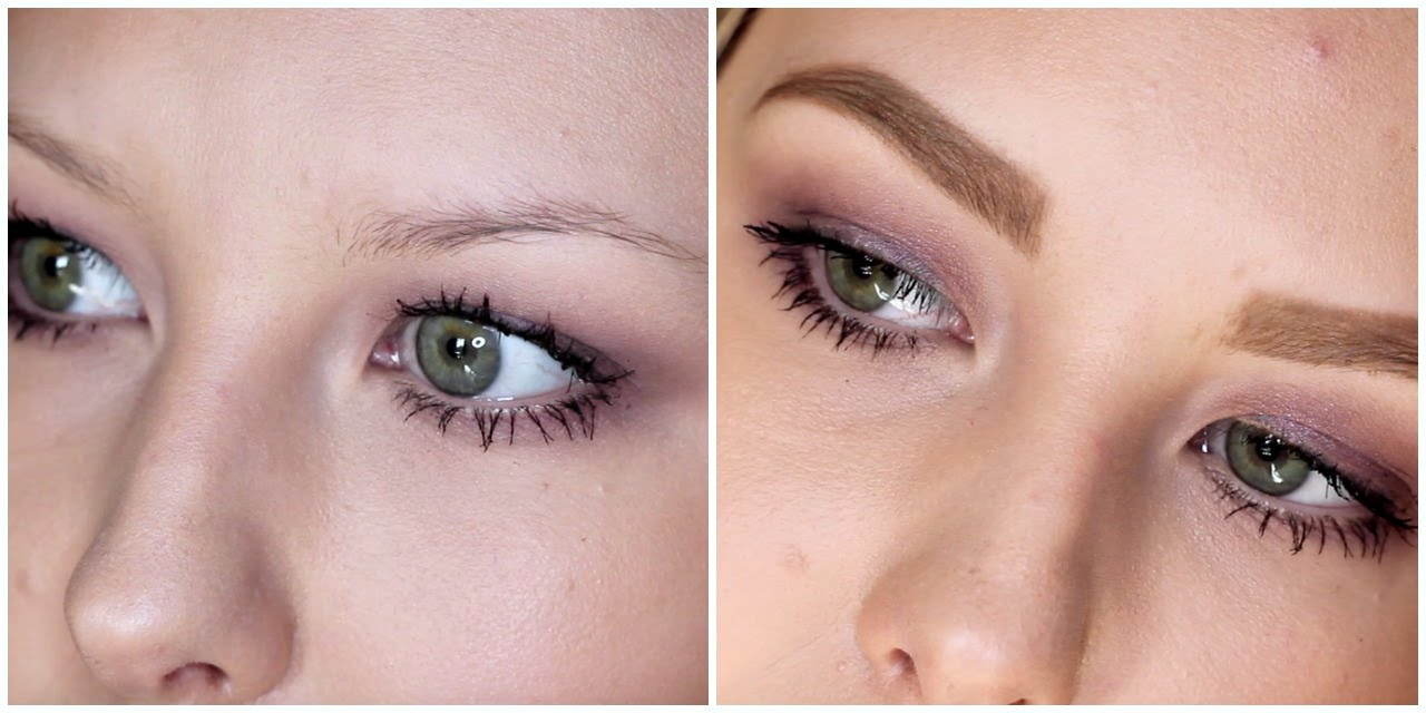 My Brow Routine How To Fill In Sparse Blonde Brows Youtube