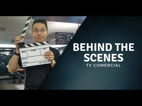 Behind the scenes TV Commercial