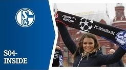 Schalke(r) in Moskau