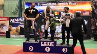Саша Курак на Чемпионате по пауэрлифтингу GPA-IPF GPA-D 2015 в Киеве насобирал кучу наград