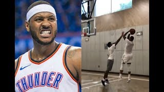 Carmelo Anthony Goes Off His 2K Rating Then Turns Into Prime Melo!