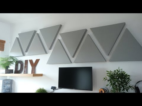 High-Performance DIY Acoustic Panels