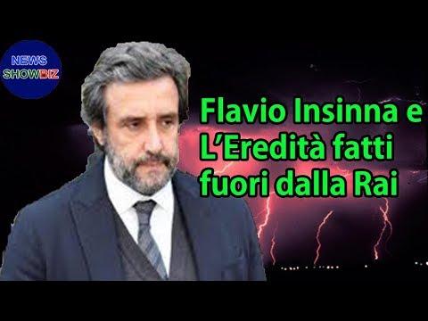 Flavio Insinna e L'Eredità fatti fuori dalla Rai: ecco chi li sostituirà