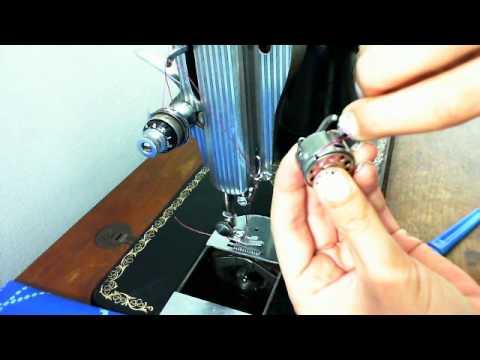 Enhebrado máquina de coser parte II - YouTube