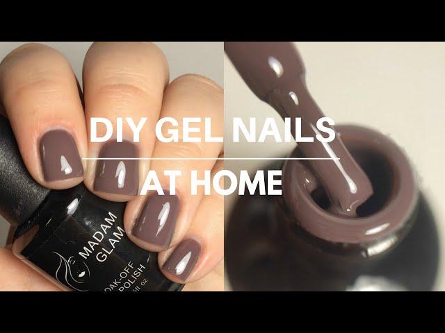 DIY Gel Nails At Home!!