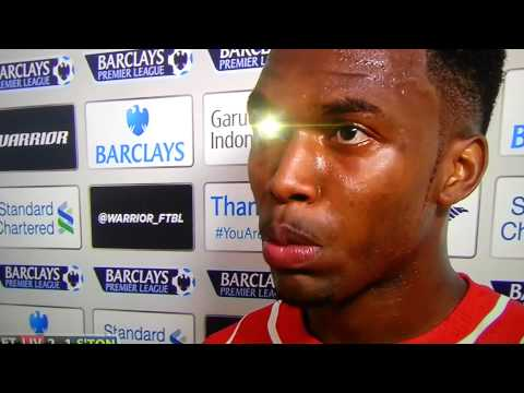 liverpool 2 - 1 southampton interview daniel Sturridge &  Sterling R 17.08.2014