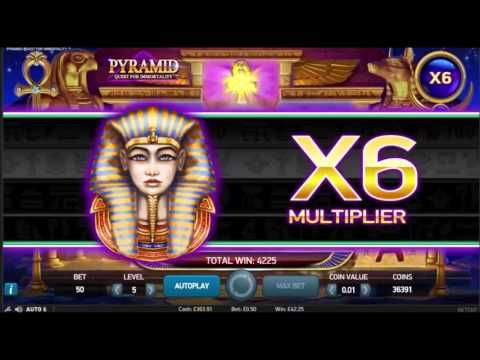Pyramid Slot Super Big Win - NetEnt