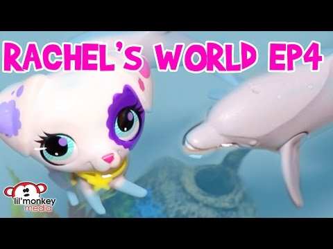 LPS - Rachel's World Ep 4 - Waterpark Fun with Grandpa Grouch and Grandma!