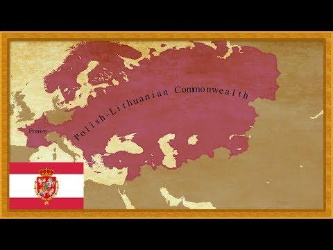 EUIV | Timelapse - Polish-Lithuanian Commonwealth
