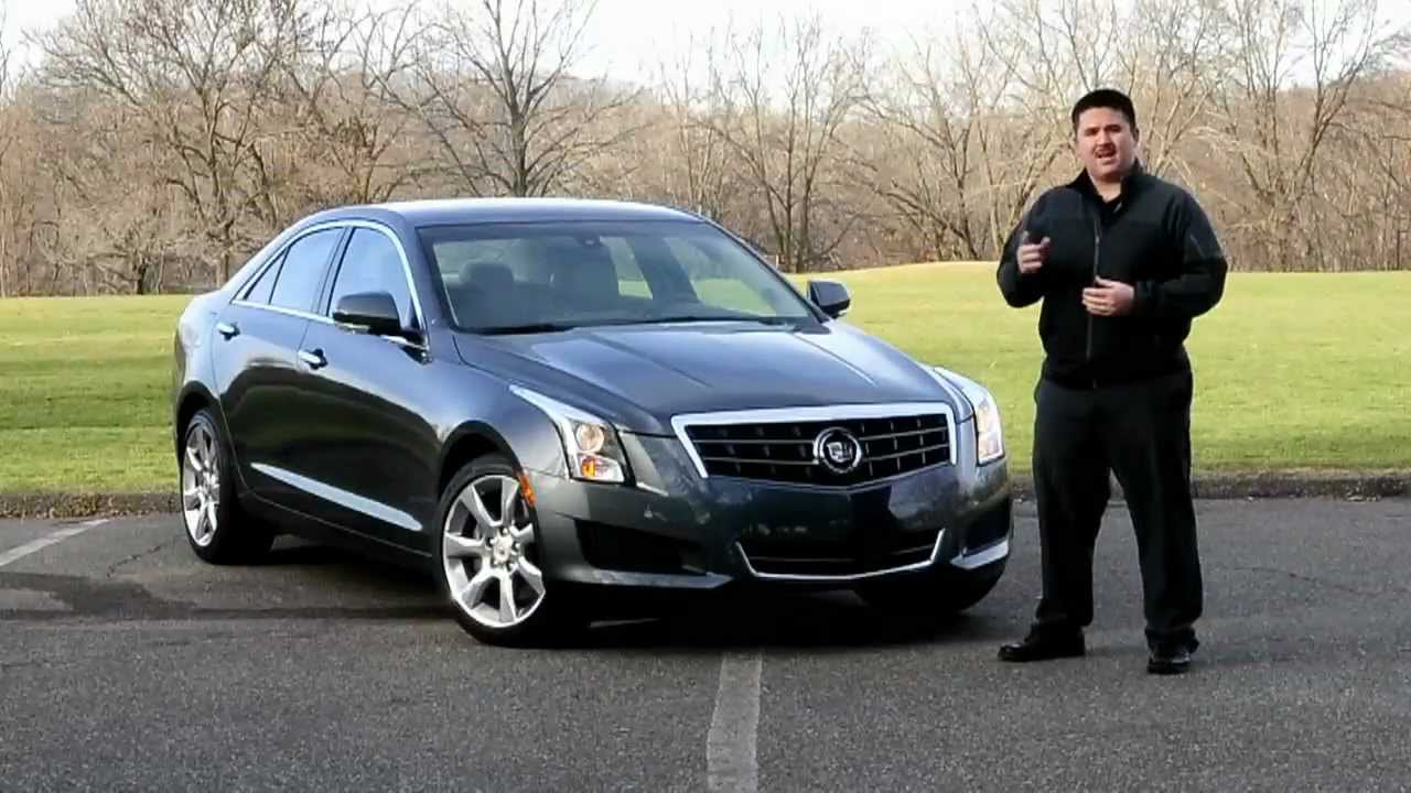 IHS Auto Reviews: 2013 Cadillac ATS 2.5 with CUE - YouTube