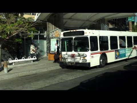Ridin L.A. Metro Blue line-Downtown longbeach to Transit Mall