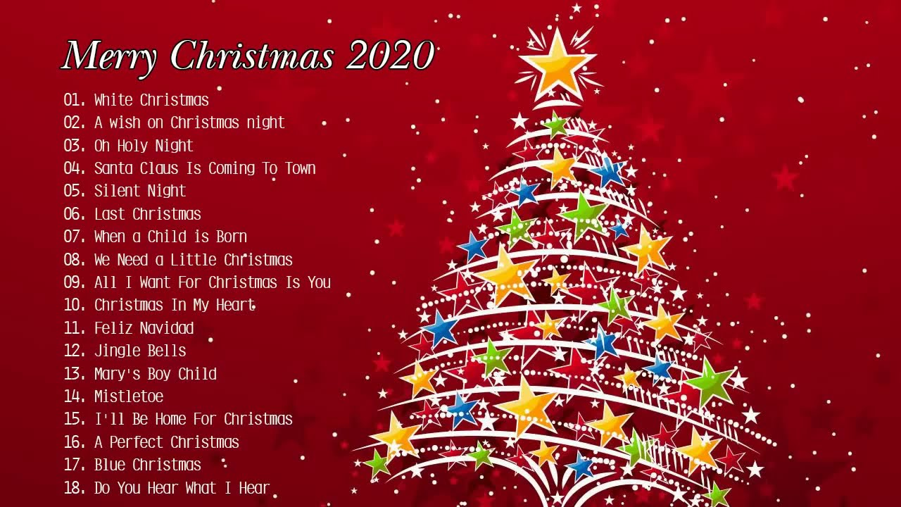 best 100 merry christmas 2020 greatest christmas classic songs all time youtube youtube