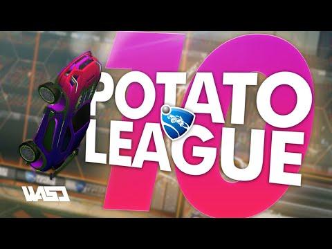 POTATO LEAGUE #10 | Rocket League Funny Moments & Fails thumbnail