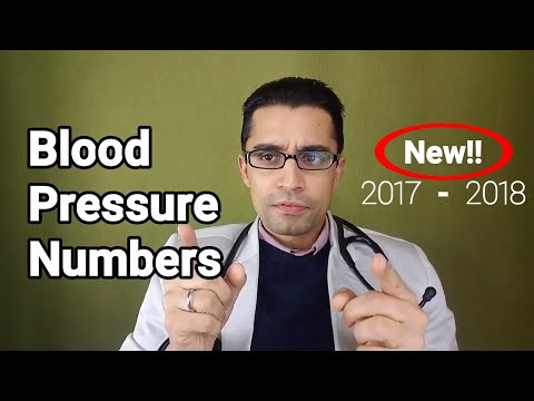 High Blood Pressure Numbers and Guidelines: New 2017 - 2018 ACC and AHA Recommendations