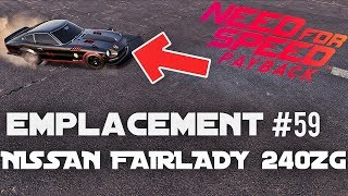 NEED FOR SPEED PAYBACK | EMPLACEMENT VOITURE ABANDONNÉE #59  NISSAN FAIRLADY 240ZG