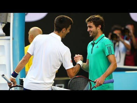 Novak Djokovic v Gilles Simon highlights (4R) | Australian Open 2016