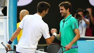 Novak Djokovic v Gilles Simon highlights (4R) | Australian Open 2016
