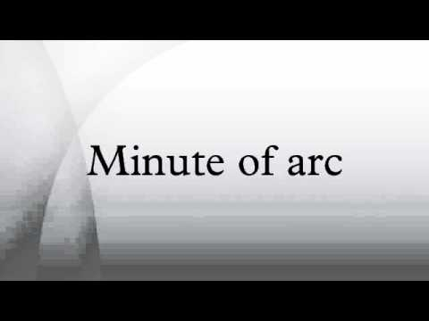 Minute of arc