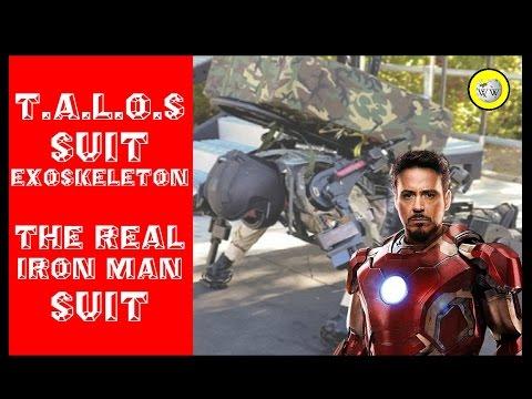 US TALOS Suit Exoskeleton - The real iron man suit