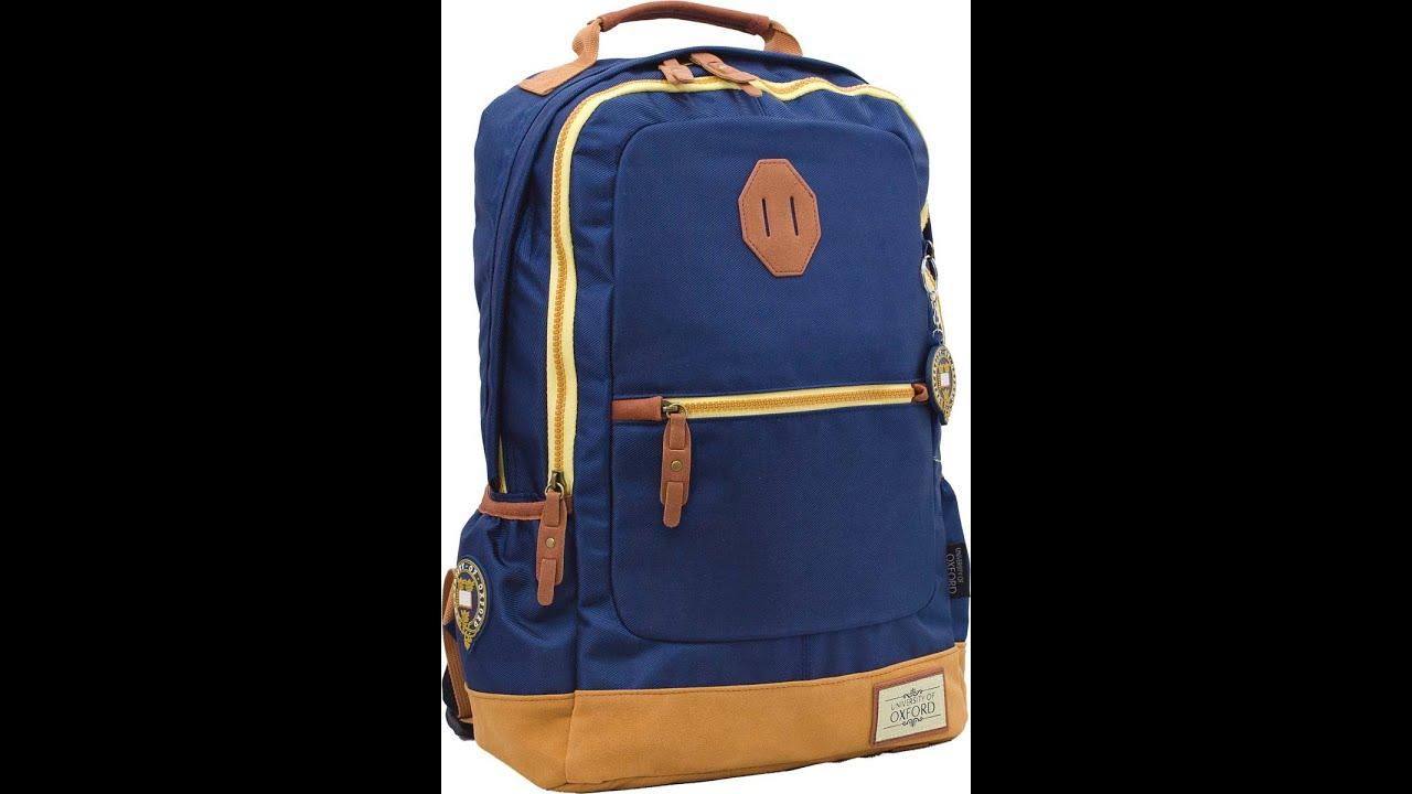 Школьный рюкзак для мальчиков Sports DFW черный с синим - YouTube