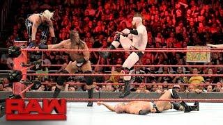 Enzo & Big Cass vs. Cesaro & Sheamus - Raw Tag Team Title No. 1 Contender