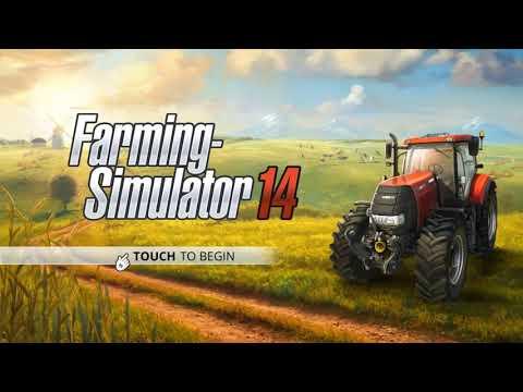 Farming Simulator 14- #2 Making Hay Bales
